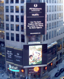 I Am The Earth on Times Square Billboard!